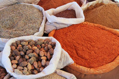 Spices on the market Royalty Free Stock Photography