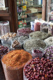 Spices market Stock Image