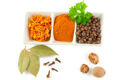 Spices. Mix of different herbs Royalty Free Stock Image