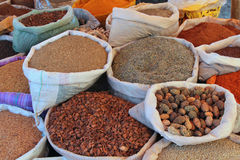 Spices on a moroccan market Royalty Free Stock Image