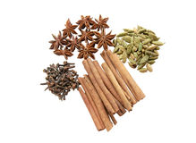 Spices for mulled wine Stock Photography