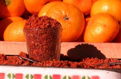 Spices and Oranges in Odessa, Ukraine Stock Photography