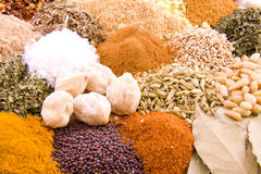 Spices from the orient Royalty Free Stock Images