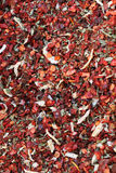 Spices red background. A set of fragrant spices, background Stock Photography