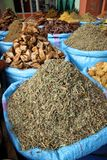 Spices for sale Royalty Free Stock Images