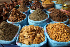 Spices for sale Stock Photography