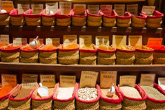 Spices for sale Royalty Free Stock Photo