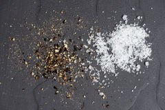 Spices Salt and Pepper Royalty Free Stock Images
