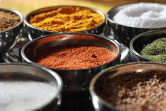 Spices and Seasonings Royalty Free Stock Photo