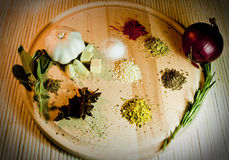 Spices selection Royalty Free Stock Photography