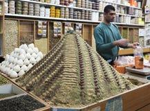 Spices shop on Beit HaBad Street. Old Jerusalem. Israel. Royalty Free Stock Image