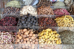 Spices. Some spices ina arabian market Royalty Free Stock Images