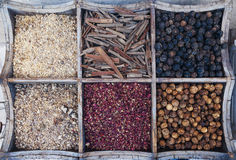 Spices At The Spice Souk Of Deira. Dubai, UAE Stock Images