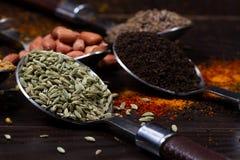 Indian powder . royalty free stock photo