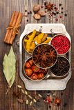 Spices and spicy Stock Photo