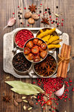 Spices and spicy Royalty Free Stock Photo
