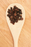 Spices in the spoon. Royalty Free Stock Images