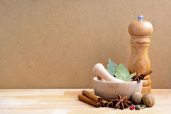 Spices still life Royalty Free Stock Image