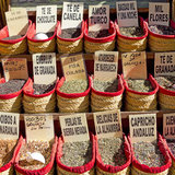 Spices Store stock photography