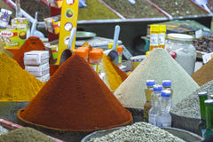 Spices on the street Royalty Free Stock Photography