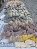 Spices on the street market in Turkey Royalty Free Stock Photography