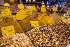 Spices and sweets in Grand Bazaar Royalty Free Stock Photo
