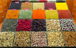 Spices and Teas Royalty Free Stock Images