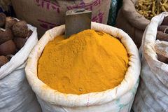 Spices turmeric Royalty Free Stock Images