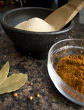 Spices. A variety of fragrant spices Royalty Free Stock Photo