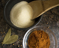 Spices. A variety of fragrant spices Royalty Free Stock Photos