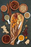 Spices for Weight Loss and Slimming stock photos