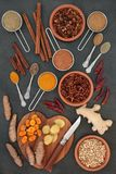 Spices for Weight Loss stock image