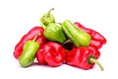Spicey chilipeppar Arkivbild
