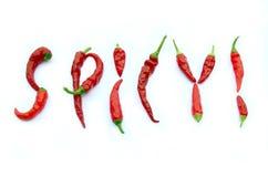 Spicy! Stock Photo