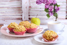 Spicy apple cakes Royalty Free Stock Photography