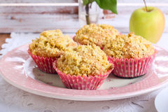 Spicy apple cakes Royalty Free Stock Images