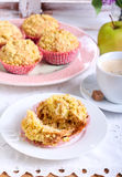Spicy apple cakes Stock Photo