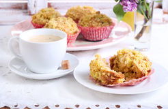 Spicy apple cakes Stock Photography