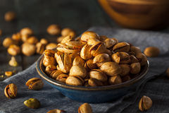 Spicy BBQ Chipotle Pistachios Royalty Free Stock Image
