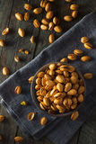 Spicy BBQ Chipotle Pistachios Stock Images