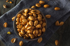 Spicy BBQ Chipotle Pistachios Royalty Free Stock Images