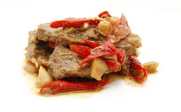 Spicy beef Stock Photography