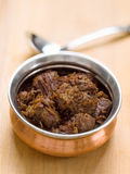 Spicy beef rendang Royalty Free Stock Image