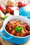 Spicy beef stew Stock Images