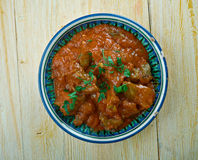 Spicy Bengali Mutton Curry Stock Photography