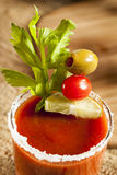 Spicy Bloody Mary Alcoholic Drink Royalty Free Stock Image