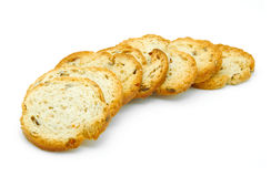Spicy bread toast Royalty Free Stock Image