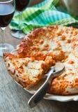 Spicy buffalo chicken pizza. Selective focus Stock Photography