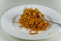 Spicy carrot Royalty Free Stock Image