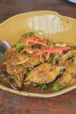 Spicy catfish Stir fry Stock Photo